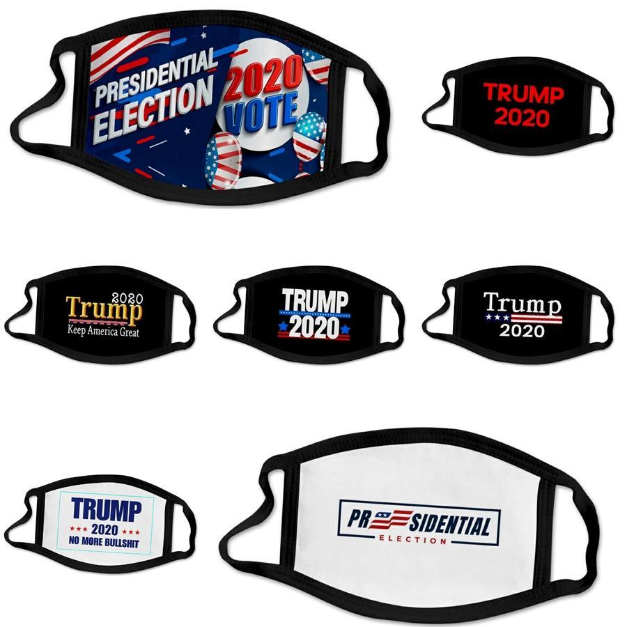 Máscara Facial Poluição Outdoor reutilizável lavável Earloop Boca Máscaras Designer Trump Máscara Facial # 956