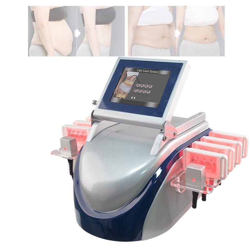all'ingrosso rifornimento di bellezza Zerona lipo grasso macchina laser di perdita di peso rimozione 10 rilievi laser lipo macchina laser