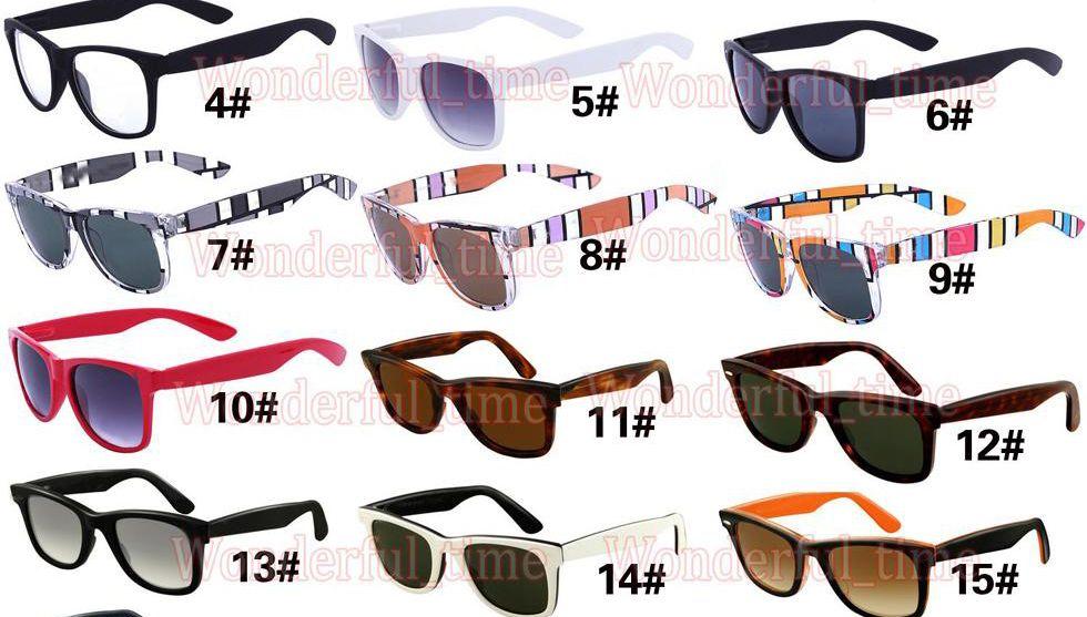 여름 A +++ 남자 비치 안경 패션 선글라스 단순 컬러 여성 스포츠 사이클 야외 스포츠 선글라스 17 색 무료 배송