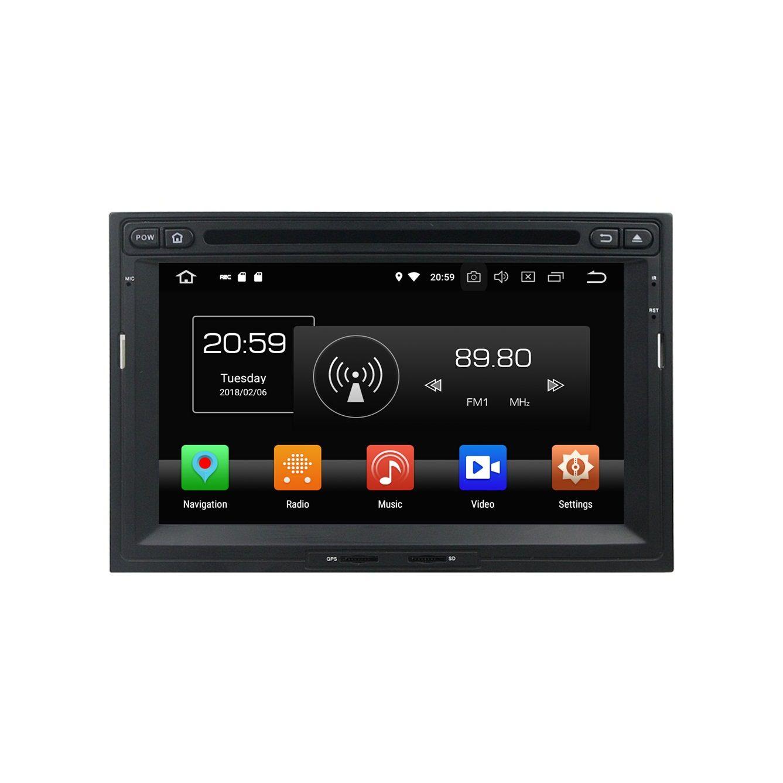 """4 Go de RAM Octa Core 7 """"Lecteur DVD de voiture Android 8.0 pour Peugeot 3008 5008 Partenaire Citroen Berlingo RDS Radio GPS WIFI Bluetooth USB Mirror-link"""