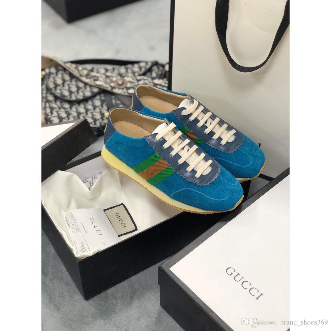 2020 YENİ AT Kadın Casual Sneakers Kadın Şık Sneakers Yüksek Kalite Lüks Tasarım