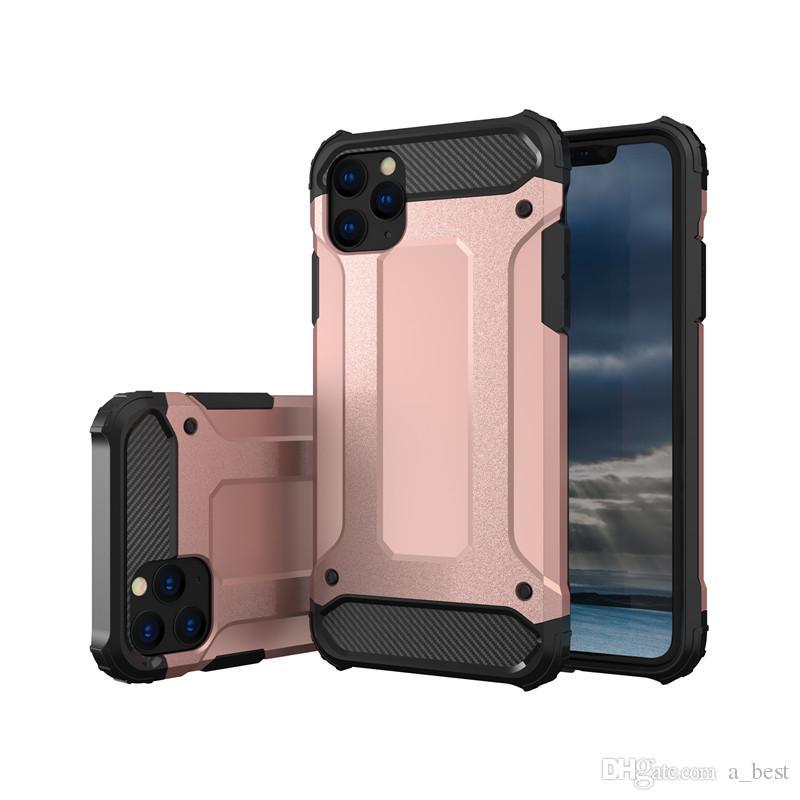 درع حالة الهاتف الثقيلة الهجين غطاء لمدة 11 فون برو MAX XS ماكس XR X 8 7 زائد ملاحظة سامسونج 10 S10