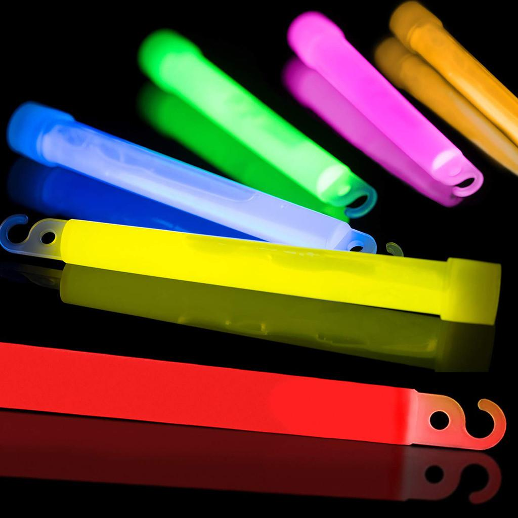 30 Pcs Glow Sticks Set Christmas Decoration Party Supplies Children Adult Novelty Toys Hangable Light Stick outdoor Supplies Gh4