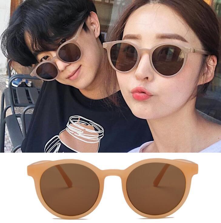 Новые Солнцезащитные очки Cateye Женщины Vintage Ретро Чай с молоком Поляризованные солнцезащитные очки Lady Elegant Солнцезащитные очки Женские очки для вождения