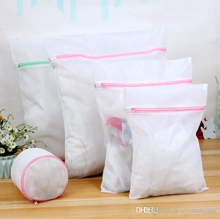 أكياس الغسيل شبكة 5 قطع s / m / ل / xl أكياس 1 أكياس الصدرية الغسيل بلوزة الجوارب الجورب داخلية الغسيل الرعاية البرازيلي الملابس الداخلية الغسيل