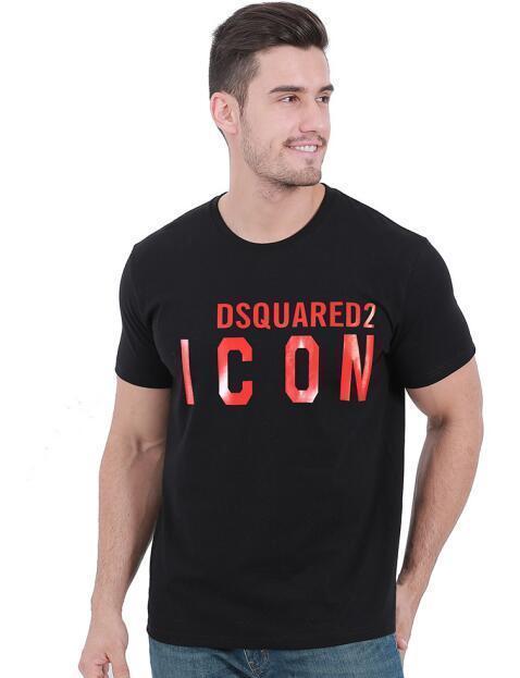 2020 Yeni Üst Kalite D2 Erkek gömlek Tişörtler Tees Kısa Kollu M-3XL kıyafet yazdırdsquared2 t shirt0ee4 #