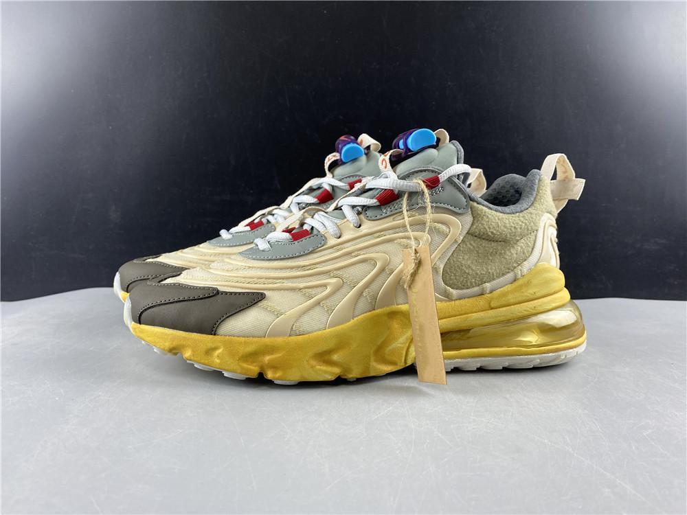 Avec boîte Fashion top Qualité 2020 nouvelle Larguez Designer React travis chaussures de course Femmes Hommes Chaussures de sport