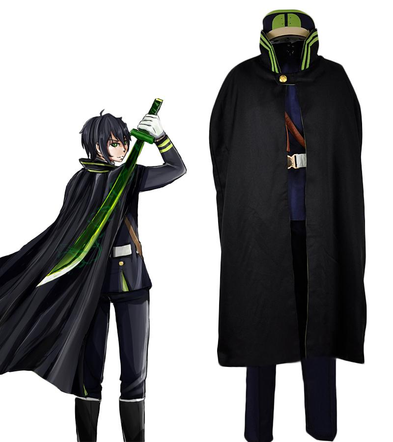 Hyakuya Yuichiro Cosplay Seraph of the End Yuichiro Costume Owari no Seraph Hyakuya Guren Ichinose Cosplay Costume Custom Made