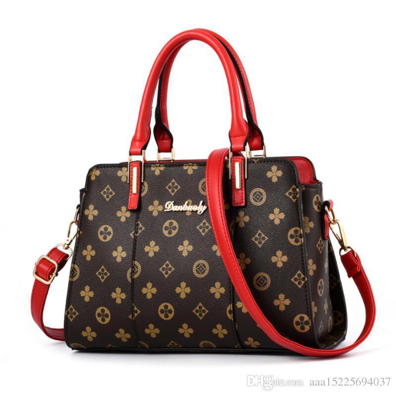 Bonne qualité Sacs à main de luxe Femmes Sacs Designer Marque Femmes PU Sac à bandoulière en cuir Sac à bandoulière Dames sacs à main Bolsa Feminina