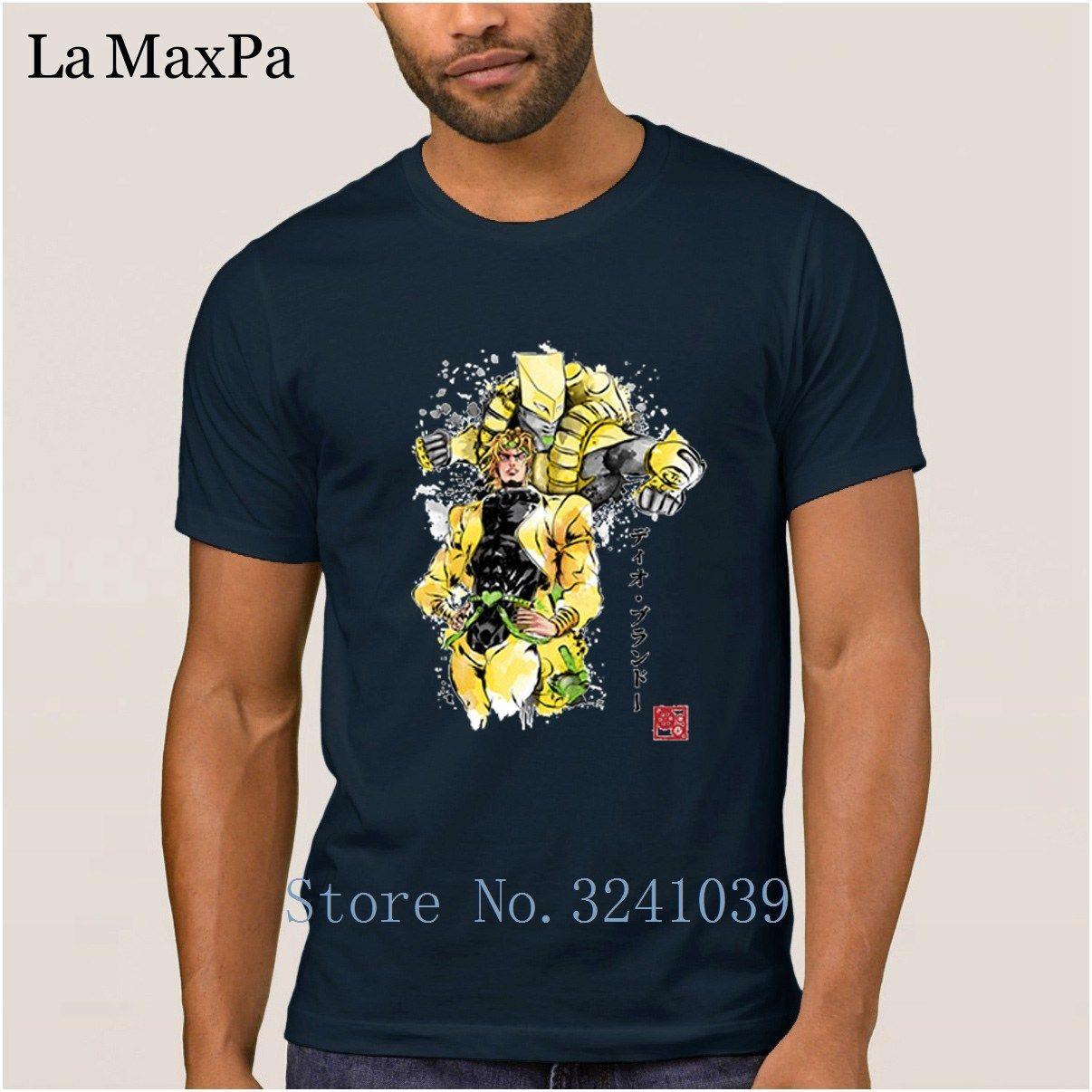 Yaratık Moda Tişört Kısa Kollu Erkek Tişört Za Warudo Tişörtlü Erkekler Ucuz Satılık 3XL Camiseta Gömlek Plus Size Soğuk