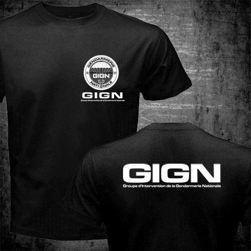 Bri Police T Shirt Raid T Shirts Gign T Shirt Us Standard Plus Size Factory Outlet Wholesale Y19072201