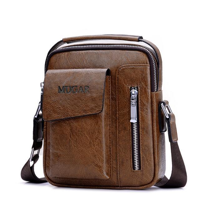 Bolsa de Negócios mini-ombro mensageiro saco de Homens maleta ocasional retro pequena