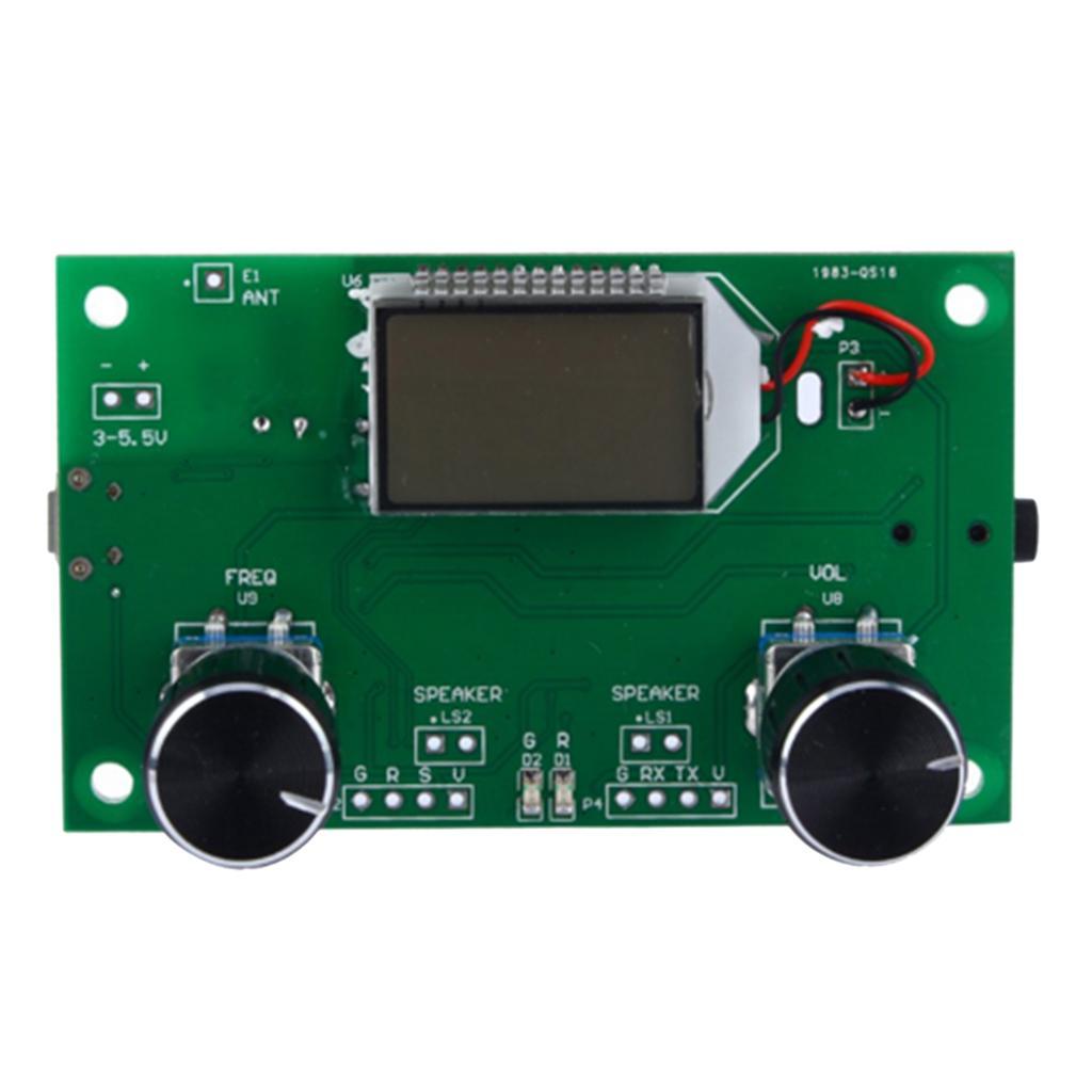 DSP PLL LCD stéréo numérique Radio Module récepteur FM avec contrôle série