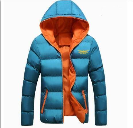 Men 's Winter Jackets Goldwing GL1800 Fashion Cotton Coat Thick Warm Zipper Casual Hooded Parka Jacket