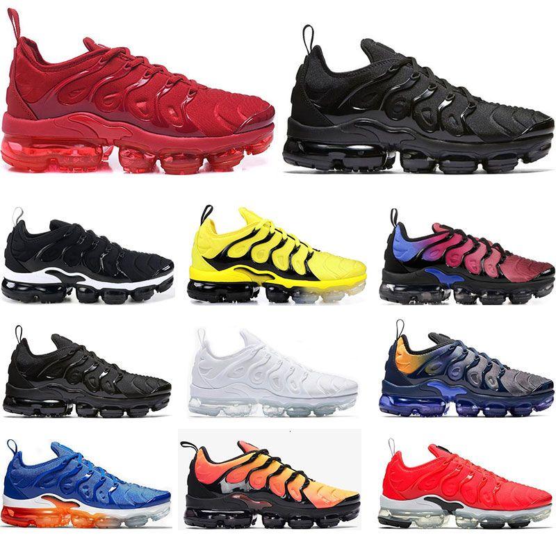 Ejecución de los zapatos para hombre del arco iris Pure Platinum China Roja Trabajo Bule Mar Rosa voltios Triple blanca para mujer negro de las zapatillas de deporte del deporte Tamaño 36-45