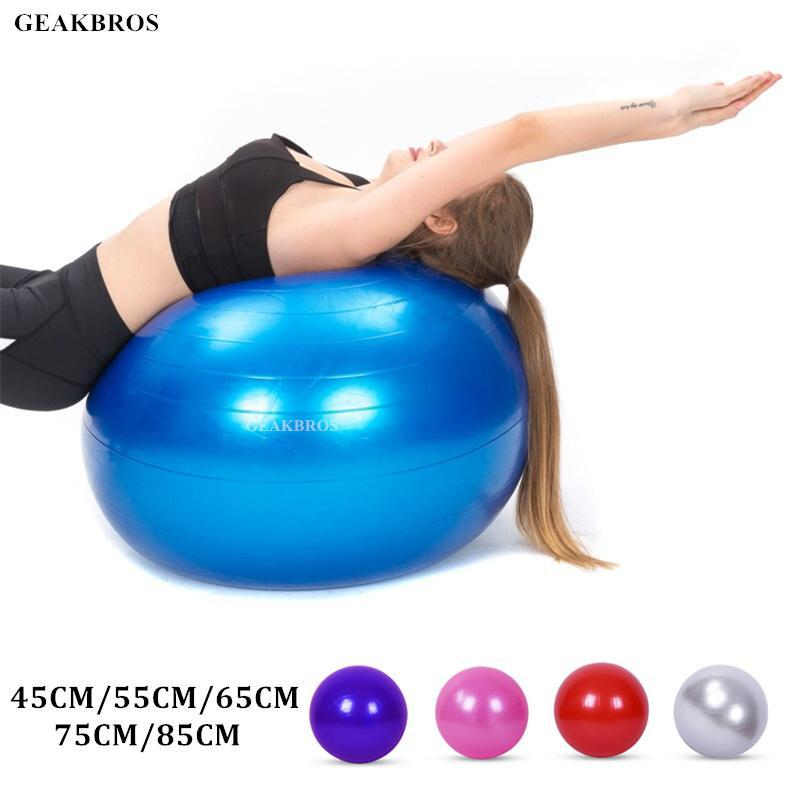 Exercise Yoga Ball Sports Stability Balance Ball For Pilates Birthing Fitness Gym Workout Training Physical Therapy Anti Burst Rqfyi Yoga Ball For Pregnancy Yoga On Ball From Hairclippers2011 22 5 Dhgate Com