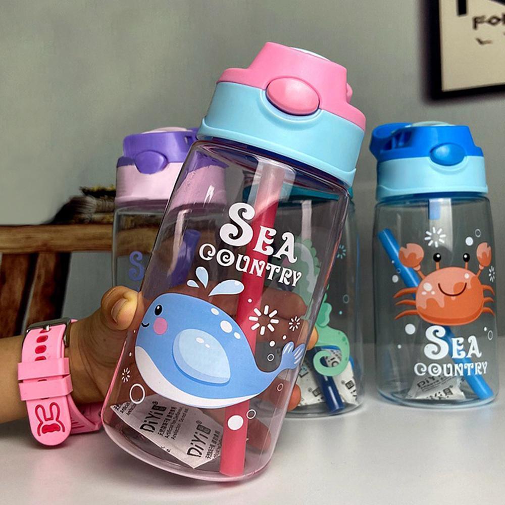 Фантастическая детская чашка Сиппи пластиковая чашка мультфильм чашка милый океан творческий детский сад детские ученики чайник изготовленный на заказ новый FY4126