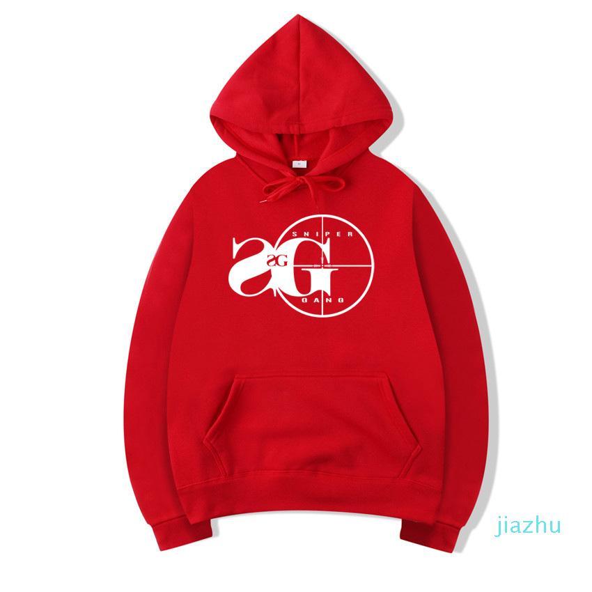 Hot Sale Vsenfo Sniper Gang Hooded Sweatshirt Kodak Black RAP Hip Hop Unisex Hoodie Cool Version Street Pullover Hoodies Men Women