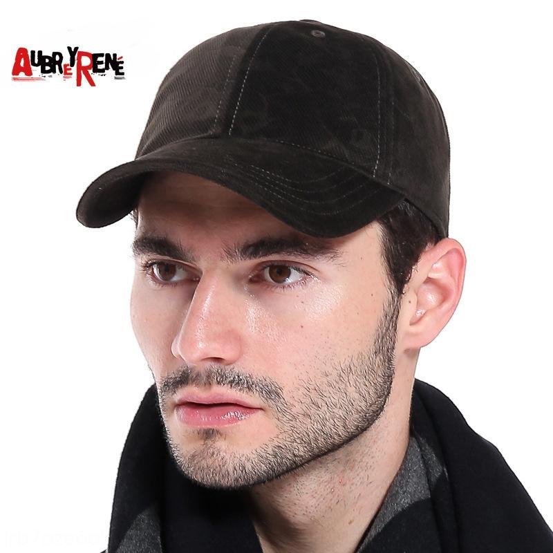velours chaud des hommes tout match en plein air langue canard décontracté chaud casquette de baseball casquette de baseball