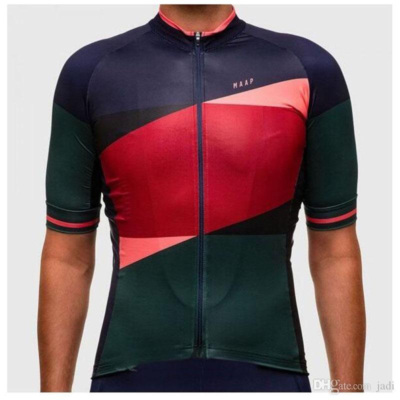 Pro team Radfahren Kurzarm trikot MAAP neue männer fahrrad kurzarm Mtb bike racing sportbekleidung radfahren atmungsaktive kleidung K062405