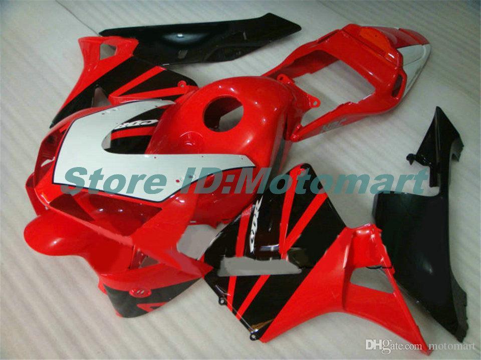 Kit de carenado de molde de inyección para HONDA CBR600RR CBR 600RR 2003 2004 CBR 600F5 CBR600 03 04 Carenados ABS set valiosos regalos HM89