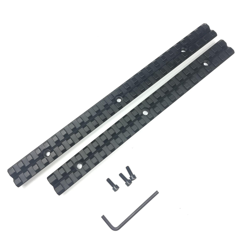 9, 10 inch Long Weaver Picatinny Rail Mount Base Adapter Converter Scope Base Aluminum Alloy For Hunting