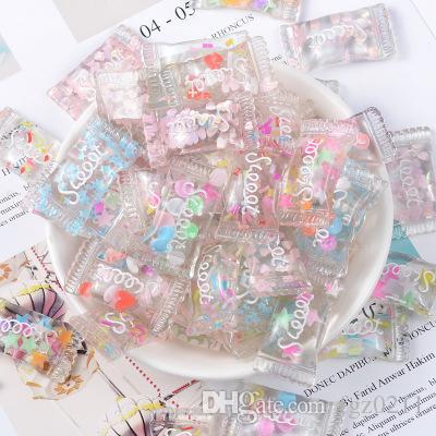 الراتنج الاكسسوارات الكريستال الحلوى كريم الغراء المواد التالية الأقراط قلادة الكرة نقطة القلم الاكسسوارات ديي ل