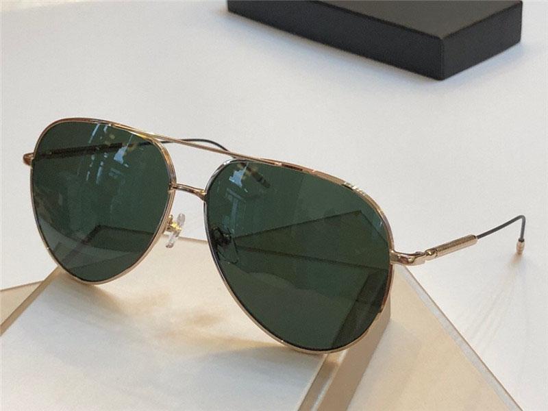 Novo designer de moda óculos de sol 0045 pilotos quadro estilo de venda popular uv400 lens top qualidade proteção eyew estilo clássico