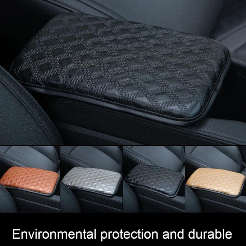 Araba Kolçak Pad Evrensel Oto Kolçaklar Araba Merkezi Konsol Kol yastığı Seat Kutu Pad Araç Koruyucu Şekillendirme 5
