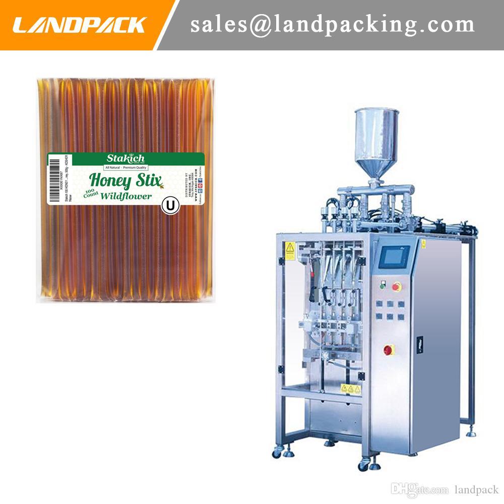 Machine à emballer liquide de bâton de boisson liquide de miel de ruelles multi complètement automatiques de miel de bâton de commande de Digital