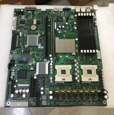 المقبس 604 DDR2 مع اللوحة الرئيسية خادم SCSI ل SE7520JR2 اختبارها في حالة عمل جيدة