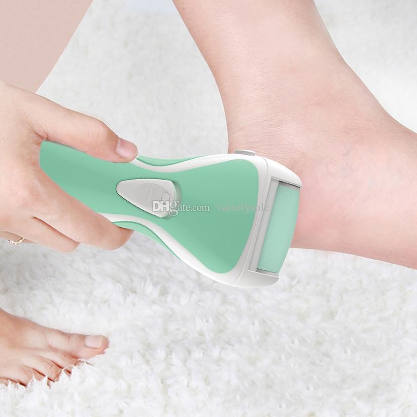 Elektrischer Fuß Grinder Pedicure Sorgfalt-Werkzeug 2 in 1 USB aufladbare Pedikürfeile Kallus-Entferner Dead Skin Removal Fußpflege Werkzeuge