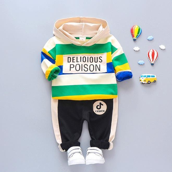 Kids Coat Pant 2Pcs/sets 1-4T Children Sets 4 Colors Baby Boys Girls Fleeces Kids Coat Pants Kids Sets Spring Winter F175202