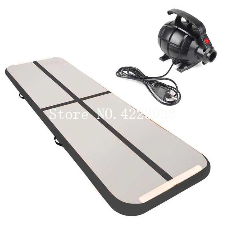 Frete Grátis Grátis Bomba de Alta Qualidade 3 * 1 * 0.2 m inflável Ginástica Air track Tumbling Mat Air Floor Tapete de Yoga Pista