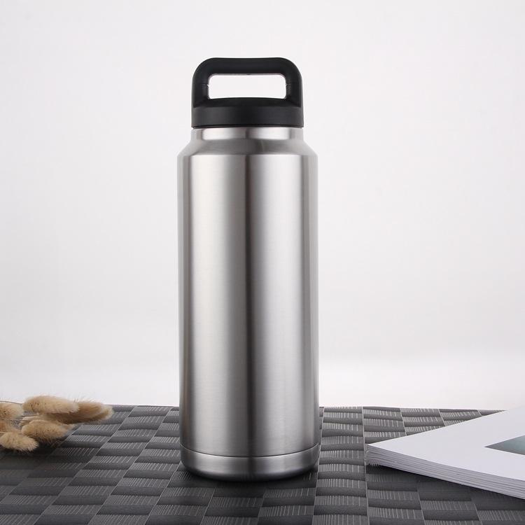 4qVBm extérieur bouilloire 304 Sport 36 oz seau à glace de maintien de froid sous vide en acier inoxydable grande capacité café kettleIce bouilloire seau tasse de café