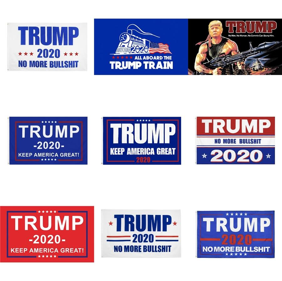 New Decor Banner Trump Flag America Again For President Usa Donald Trump Election Banner Flag Donald Flags T10I0023 #738