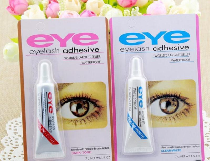 2020 Le mascara moins cher, colle, faux cils, maquillage blanc et noir clair, imperméable à l'eau, des outils mascara 9g de maquillage adhésifs cils des yeux