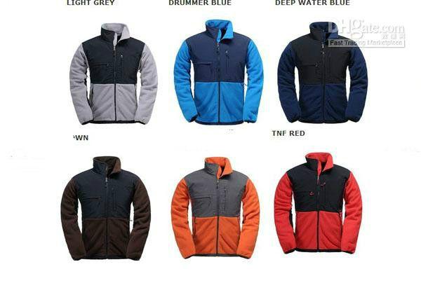 hommes veste de marque vestes molletonnées à prix réduits minces vestes de ski en plein air chaud 4 poches avec fermeture à glissière cachée S-XXL