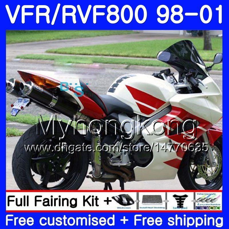Bodywork Kit For VFR800 98 99 00 01 VFR 800 VFR800RR 1998 1999 2000 2001 VFR 800RR Aftermarket Fairing of Moto