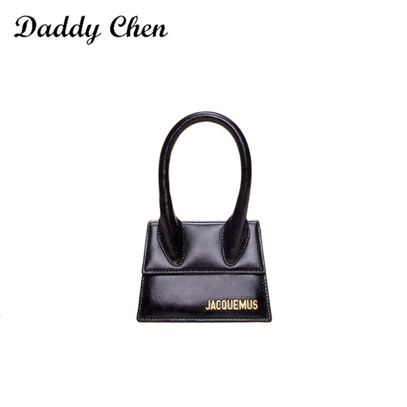 2019 Mode de haute qualité Mini sac à main Femme Nouvelle épaule couleur solide Messenger Bag Lady Lettre Party Sac bandoulière