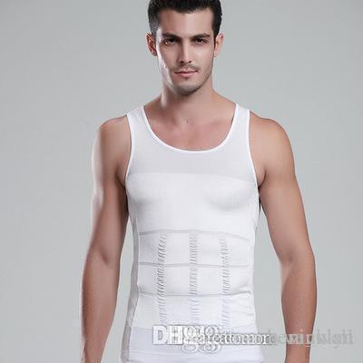 Slimming Shaper Corpo Belly Fatty underwear veste camisa Underwear Corset Compression culturismo masculino