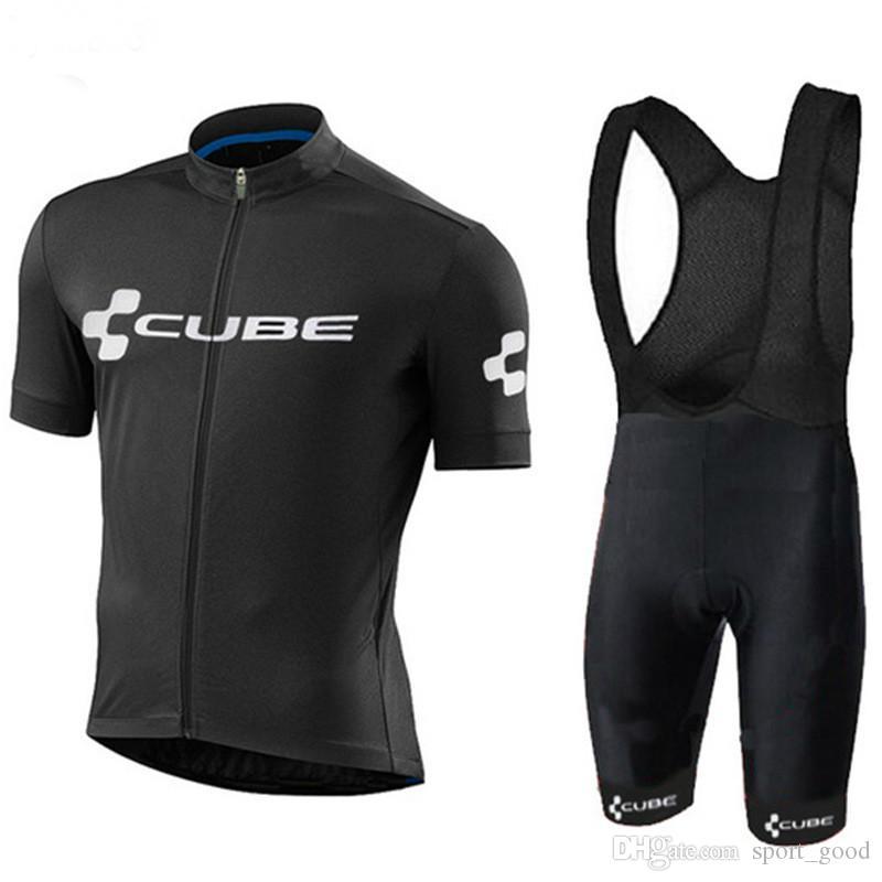 CUBE Cycling Jersey Mtb Bicycle Clothes Ropa Ciclismo racing Bike shirts Riding Wear Uomo manica corta da palestra Abbigliamento sportivo