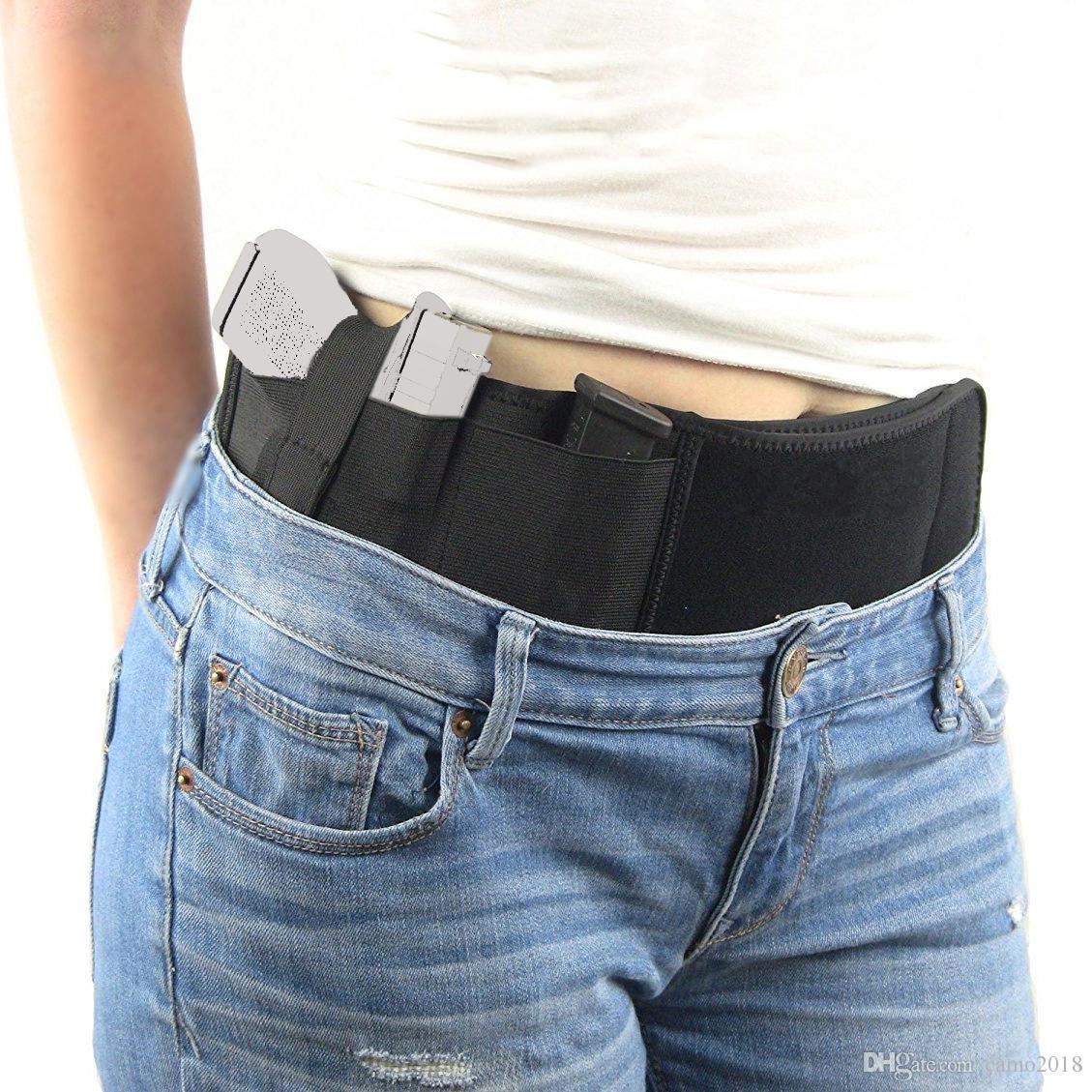 Professional Tactics Composite Materials Waterproof Waist Straps Universal Holster Gun Case Multi-function Hidden Pistol Holster Waist