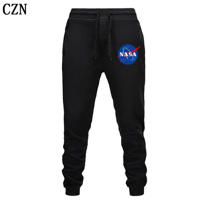 Fitness Sendero Harem NASA diseñador de los hombres Fitness Deportivo pantalones elásticos de algodón de los hombres Cuerpo Ingenieros del basculador al aire libre EL-2