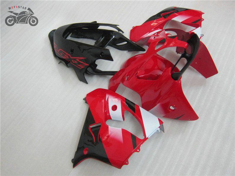 ensembles de carrosserie personnalisés pour Kawasaki Ninja ZX9R 02 03 kits de corps de carénage 2002 ZX9R 2003 ZX 9R noir rouge ABS repsol