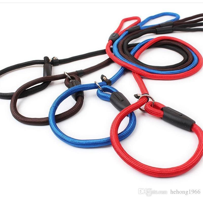 Нейлоновые принадлежности для домашних собак поводки для Harnesss щенок тяговый Канат Cat P цепь тренировочный ремень поводки ошейники высокое качество 2 6hw Y