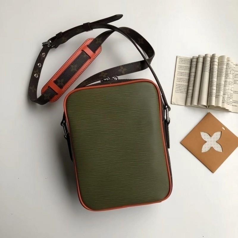 حقيبة الكتف huweifeng1 الأزياء الكلاسيكية الزيتون الخضراء M53423 MEN الظهر keepall لBAGS BUSINESS حمل أكياس رسول SOFTSIDED LUGGAGE ROLLING