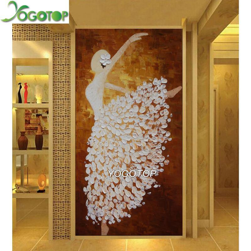 Großhandel 5D Diamant Malerei Voll Stickerei Tanzen gril benutzerdefinierte Europäischen dance Strass Bild Diy Mosaik Kunst große YY667