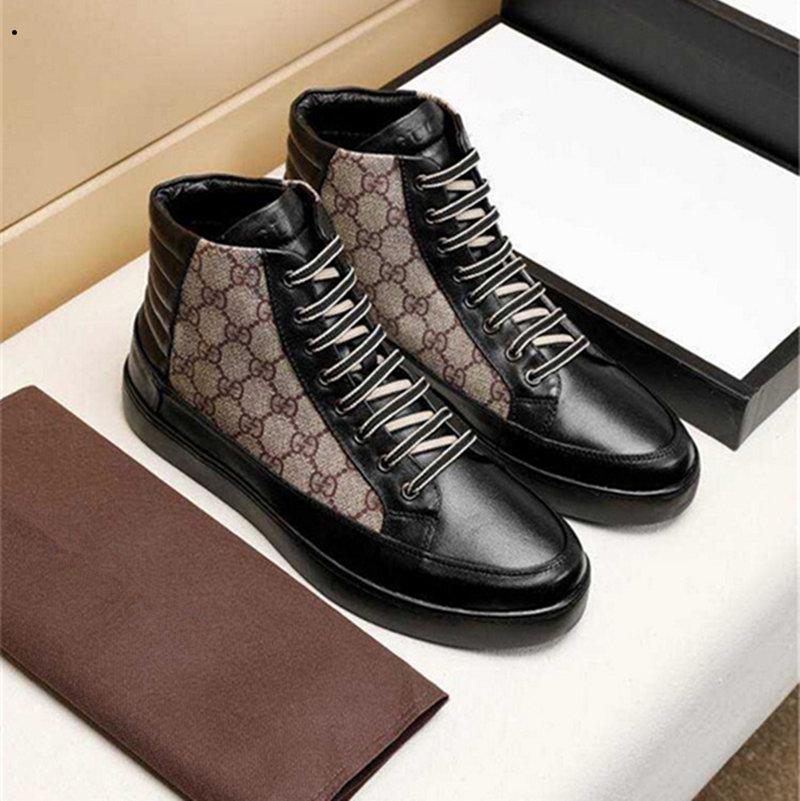 новый мужской износ кожи качества высокого галстук спорт вскользь ботинки способ Leathe белой модели Повседневной обувь Размер 38-45