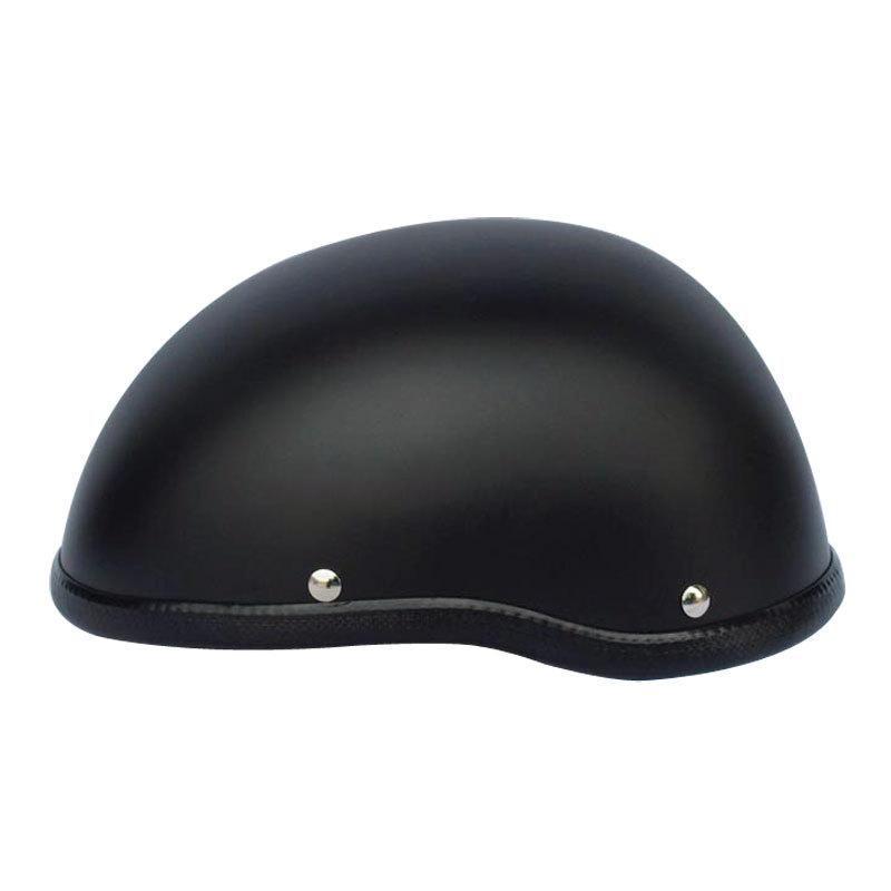Motorcycle Half Helmet Black For Harley Team Motoqueiro Casco De Moto